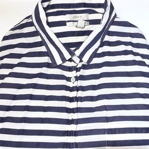 J. Crew Boy Cut Cotton Button-Down Shirt